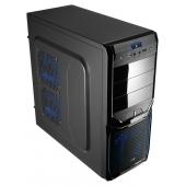 Корпус ATX Aerocool PGS V3 X Advance Evil Blue (54050) + Aerocool VP-550 EL