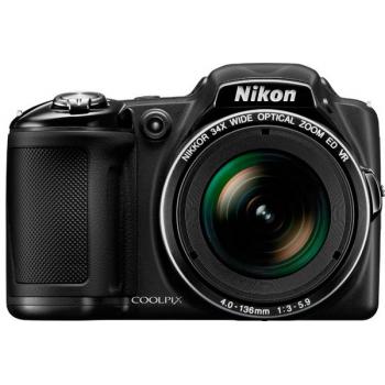 Цифровая фотокамера Nikon Coolpix L830 Black