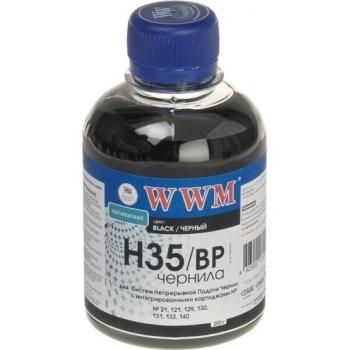 Чернила WWM H35/BP (200 г) HP 21/121/129/130/131/132/140 Black Pigmented (G225721)
